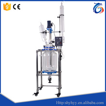 Customizable High Quality Chemical Lab Jacketed Glass Reactor 20L