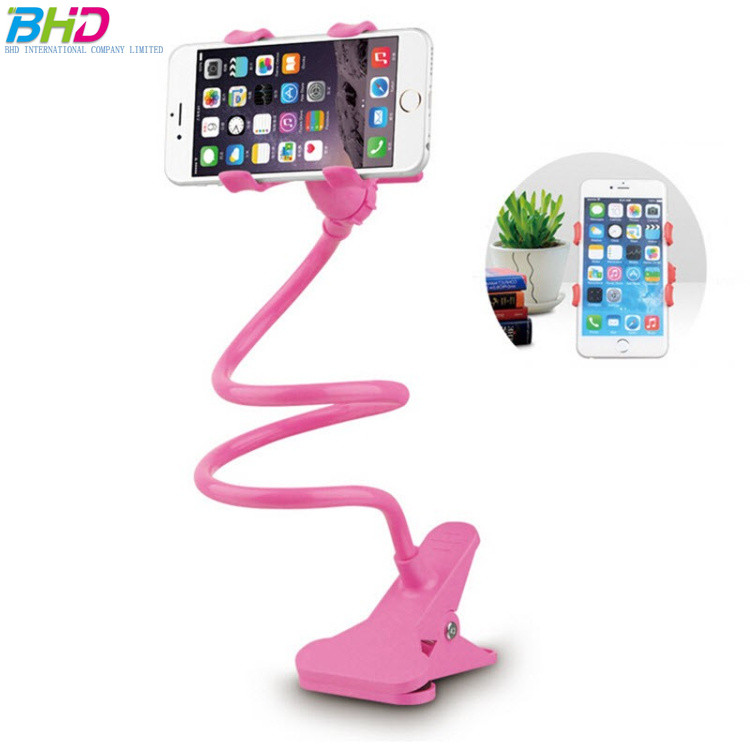 Bed Lazy Bracket stand lazy cellphone holders for tablet use the clip as a Desktop Phone