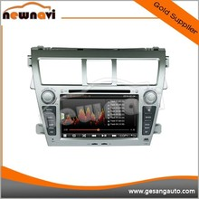 Intelligent Car DVD Radio player GPS Guide System for TOYOTA NEW Vios