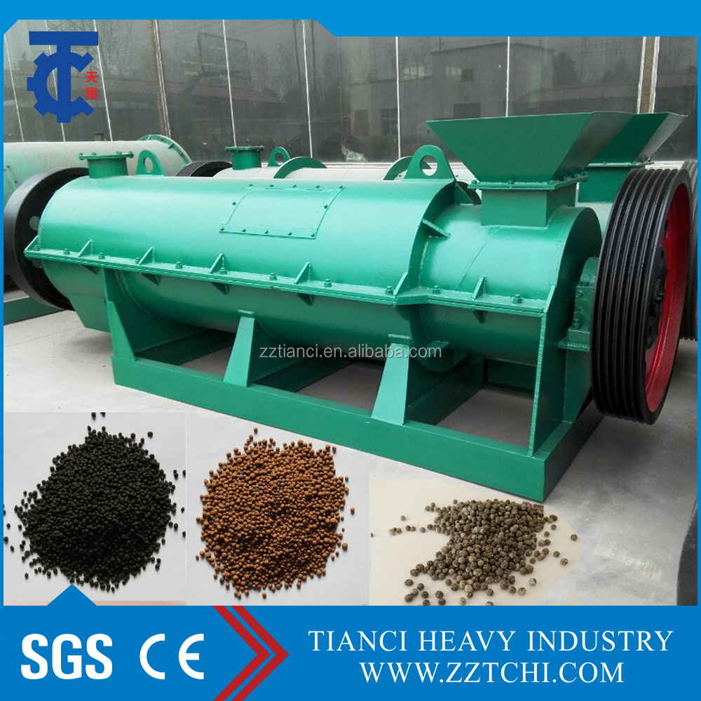 Cow manure/chicken manure/pig dung compost organic fertilizer granulation production line machine