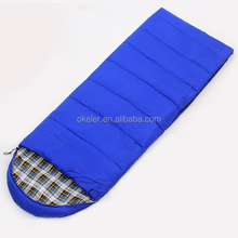 Lightweight outdoor camping warm flannel adult sleeping bags for winter