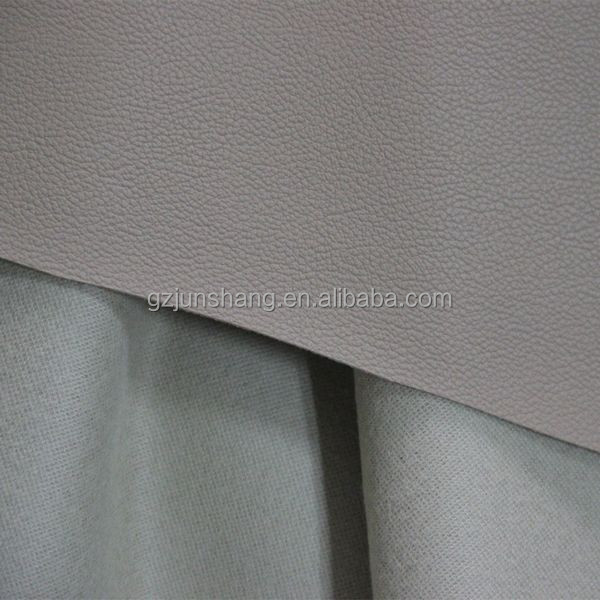 PVC leather furniture material use for office chair, sofa with strong backing