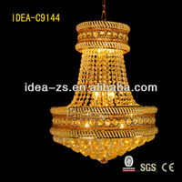 crystal leaf chandelier glass beads raw material lighting in bangkok