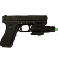 Adjustable Long Distance Green Laser Sight and Single Laser Combo