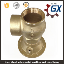 OEM Custom Brass Casting for Pump Parts