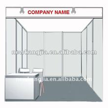 3X3m portable promotional shell scheme exhibition booth