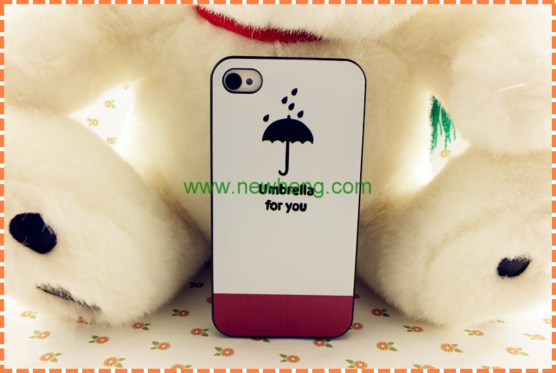 factory price umbrella pc case for iphone5s