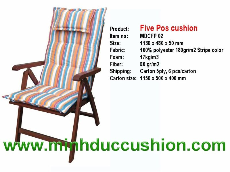 Five Pos Cushion 100 polyester jacquard cushion