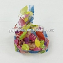 High Quality Hot Heart Shaped Plastic Custom Printed Gift Bag For Valentin's day