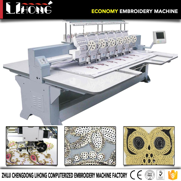 wholesale entrepreneur? pro pr1000e; towel embroidery machine with cording sequin and flat; barudan embroidery machine japan