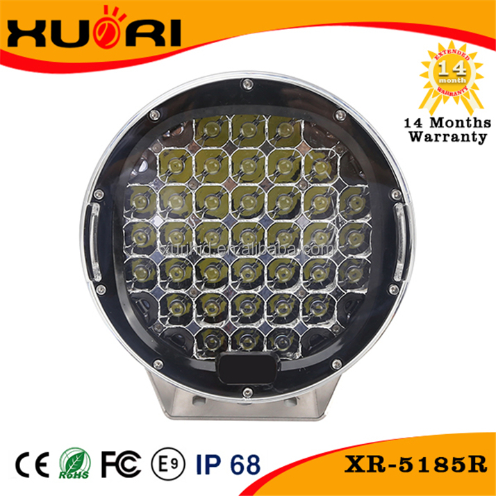 Auto Parts off road 9 inch 185w C ree led work light LED 12V/24V 4WD Work Light Flood/Spot Lamp Truck Car Boat Bar 4x4