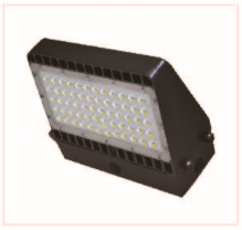 Outdoor Parking Lot Lighting 100W, LED Shoe Box Light