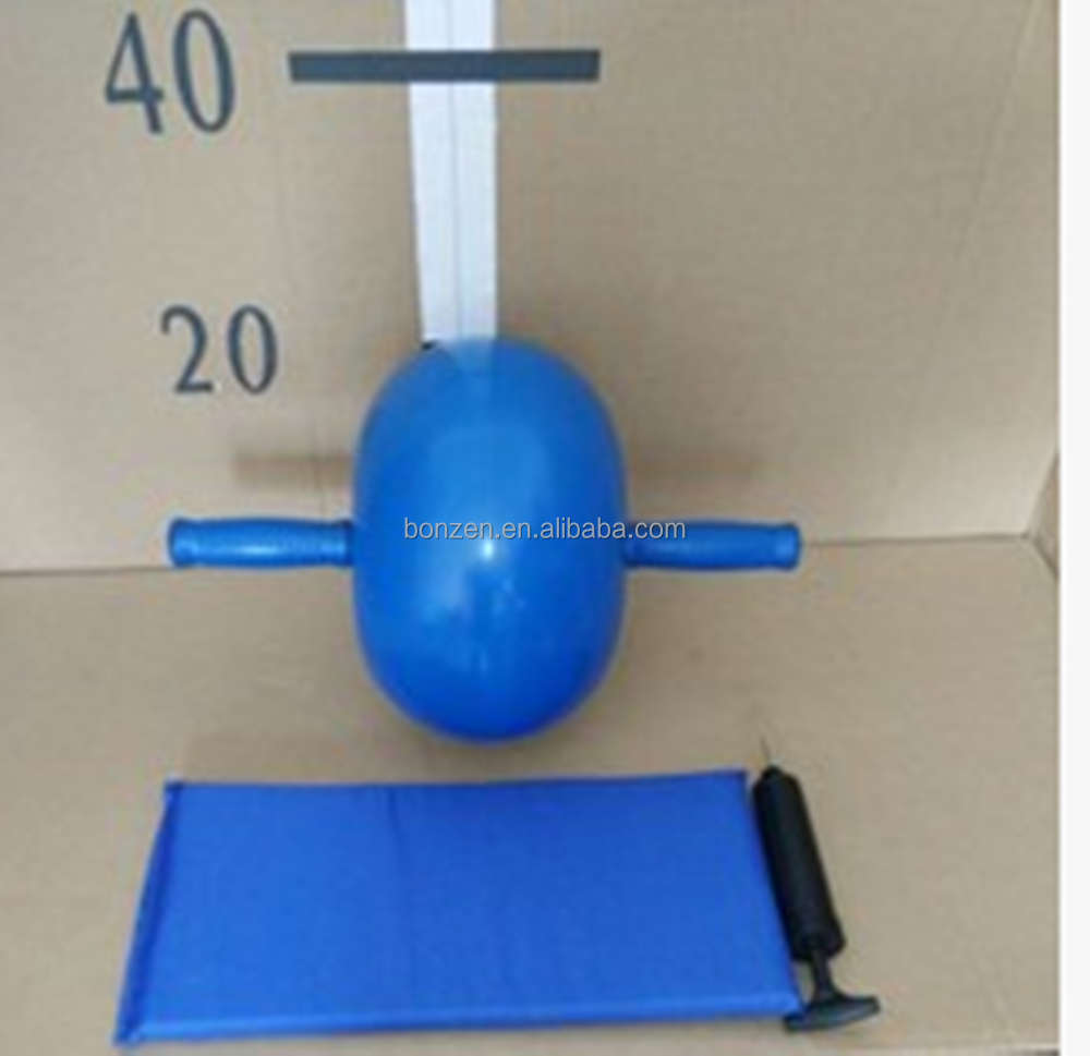Small Yoga Bouncy Exercise Ball With Handle