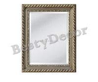 antique silver wooden wall usage mirror frame