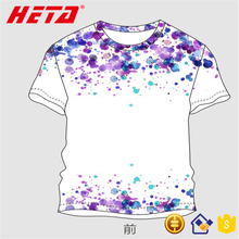 Clothing factory cheap price no problem t-shirt loose neck floral t shirts