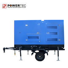 water cooled cummins diesel generator 80kw for home or factory used