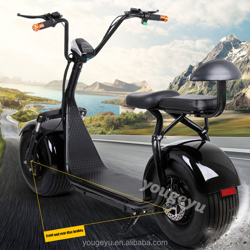 2016 hot halley adults e scooter 1000w 60v electric mini bike e scooter bicycles