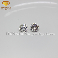 Excellent Cut 11.00mm Round White Moissanite Diamond
