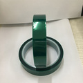 Polyester Silicone Adhesive Tape, Green Powder Coating Tape