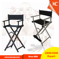 Portable Cheap Aluminum Salon folding Chair Artist Chair, Sample Available immediately