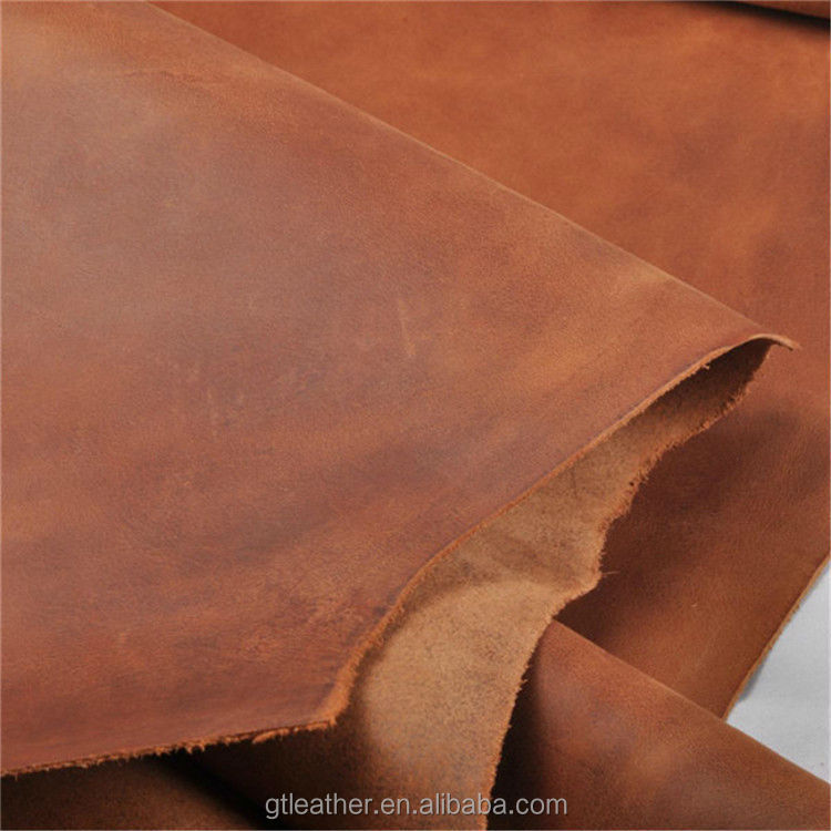 Crazy Horse Leather cow split leather for making shoes