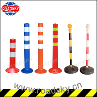 Road Guide Sign Divider Bollard Posts
