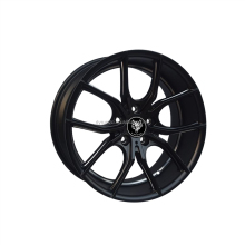 Aluminum alloy wheel/black face alloy for car rim from China