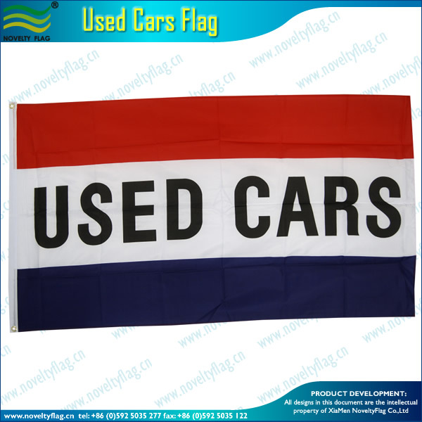 polyester Used cars flags