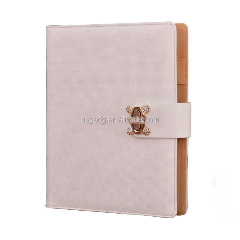 2017 exquisite 6 ring binder leather planner