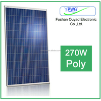 Solar panel price for home use solar system poly panel 270w