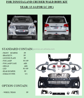 For Toyota land cruiser wald body kit,wald bodykits for LC200/FJ200