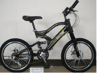 FULL SUSPENSION MOUNTAIN BIKE 20 INCH/21 SPEED MTB BIKE BICICLETAS FACTORY SUPPLY