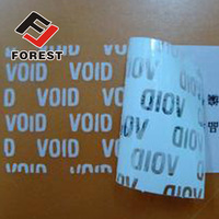 Tamper Evident void security seal Label Sticker tape customizable LOGO leave text, tamper evident security void label
