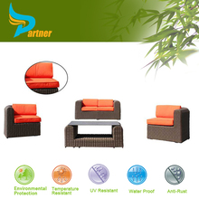 4 Pcs New Fairmont Designs Elegant Living Room Furniture Sets Outdoor Rattan Sofa Set