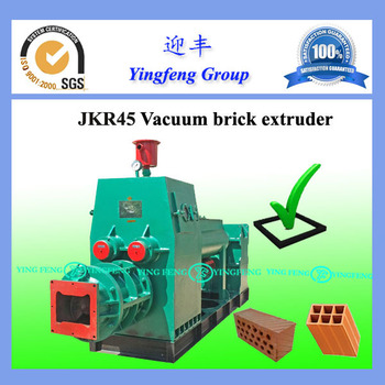Worthy investment! Yingfeng JKR45 red brick making machine