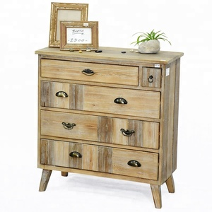 Wholesale Vintage Shabby Chic Reclaimed Home Furniture Used Wooden Storage Cabinet