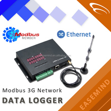 Modbus 3G Network 3g data logger electricity with Ethernet port