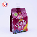 High Grade Plastic Fruit Juice Packaging Portable Drinking Refillable Wine Bag For Kids