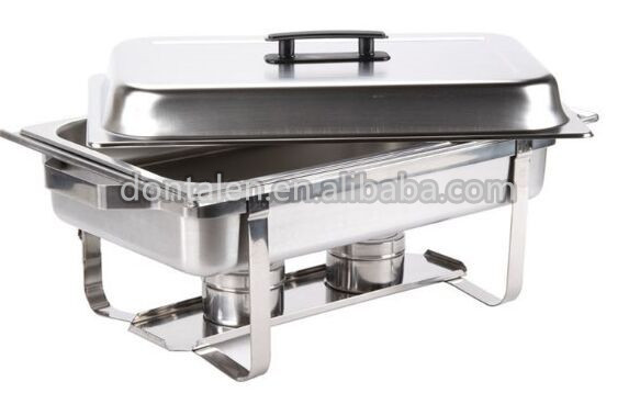 Stainless steel buffet catering equipment/chafer/dishes