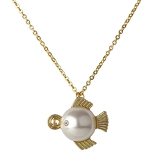 jewelries accessaries simple design pearl necklace