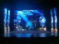 P4.81 japan xxx free video stage rental led curtain advertising screen hanging indoor rental led display screen