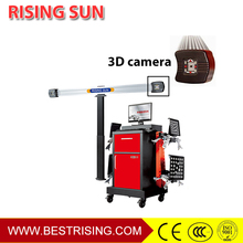 3D wheel balancing and alignment equipment for workshop