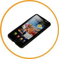 Black COVER S-LINE GEL TPU CASE For SAMSUNG GALAXY S 2 II T989 from dailyetech