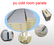 Cold Room Panel Polyurethane PU Sandwich Panel for fruit milk vegetable potato