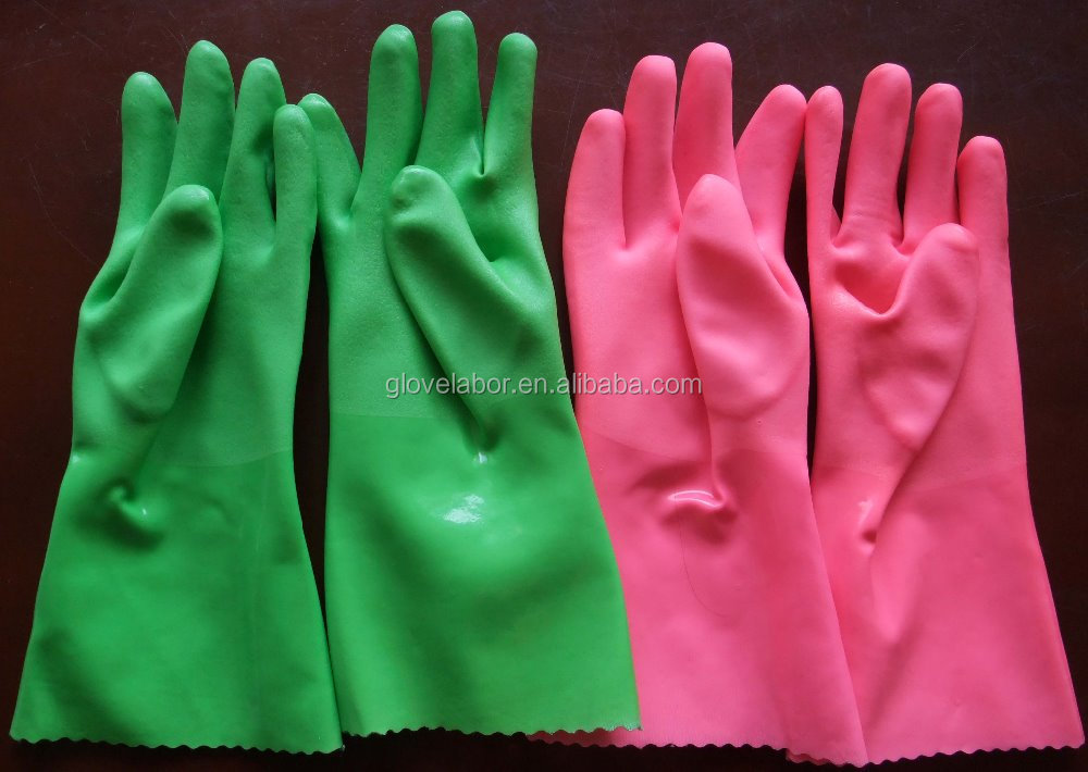 household rubber latex pvc gloves