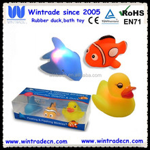 Blinking led duck/clown fish/dolphin