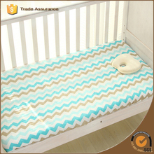 Hot Sales Baby Crib Sheet 100% Bamboo Muslin Fitted Sheet