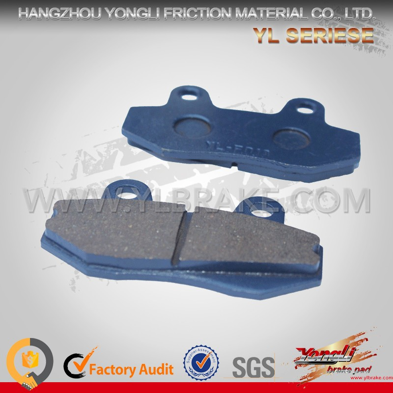 YL-F018B Comfortable Brake Pads For Innova