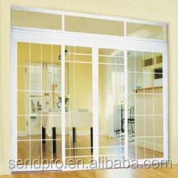 plastic-grids-for-doors/plastic grids for doors/Factory offer OEM 60 mm upvc casement window and doors