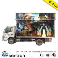HOT sale mobile 5d cinema, mobile 5d theater system
